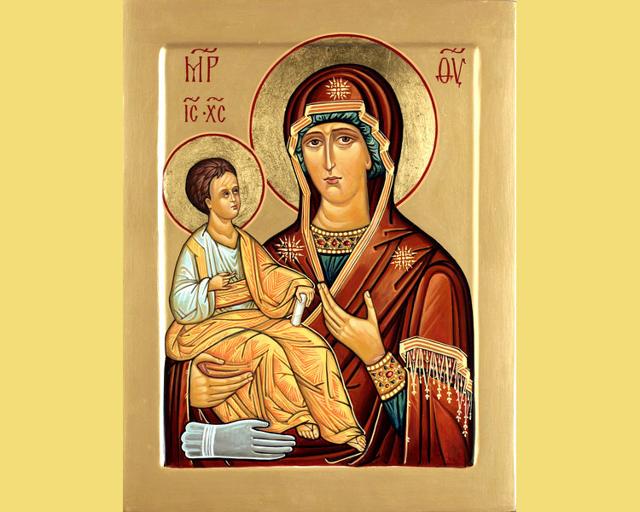 Икона «Троеручица»: в чем помогает, значение